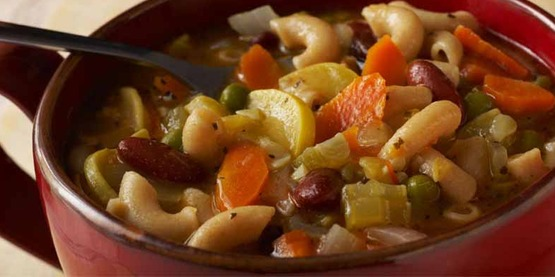Hearty Vegetable Bean Soup from Cooking Matters is great for cold days.