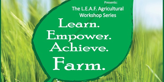 L.E.A.F. Workshops to Cover Growing Vegetables and Food Preservation