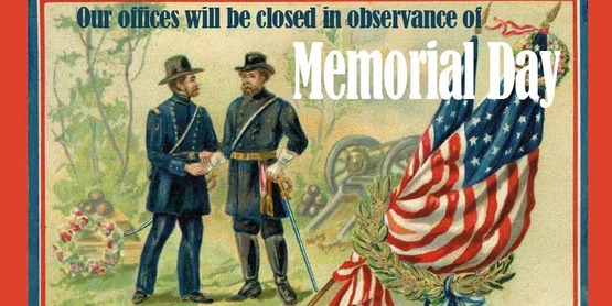 Offices Closed - Memorial Day