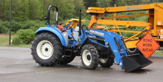 We partner with CCE of Herkimer County to offer  tractor safety classes for youth aged 14-