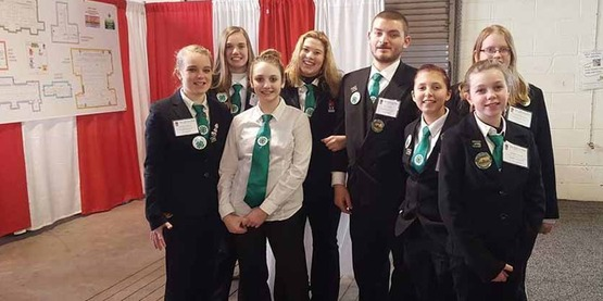 2016 Teen Council at the Farm Show
