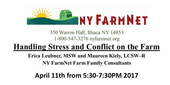 Handling Stress and Conflict on the Farm