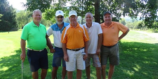 Cornell Cooperative Extension Golf Fundraiser participants.