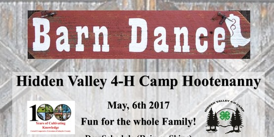 BARN DANCE! Hidden Valley 4-H Camp Hootenanny
