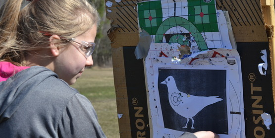4-H Shooting Sports - target