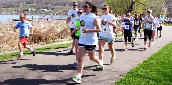 2013 4-H 5K & Fun Run, formerly held in Stewart Park, Ithaca