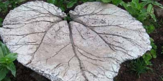 Create Your Own Concrete Leaf Casting