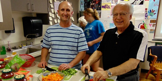 Clyde SPAN Community Cooking Night May 2 2017