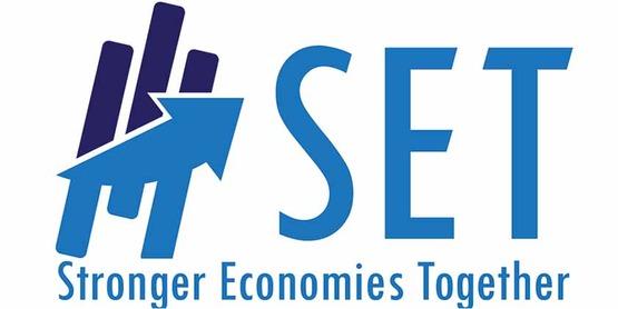 Logo for USDA Stronger Communities Together program (SET)