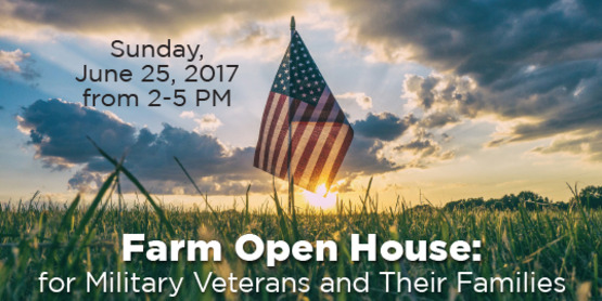 Farm Open House: For Military Veterans and Their Families
