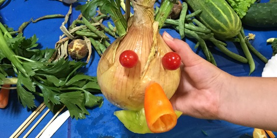 Vegetable Art Contest