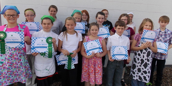 4-H PRODUCED IN NYS FOODS CONTEST