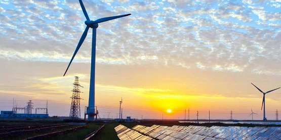 Solar and wind energy are an important part of the grid of the future.