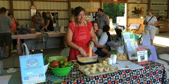 Celebrate Seneca County Agriculture - Sue Petersen, Seneca County Farmers' Market