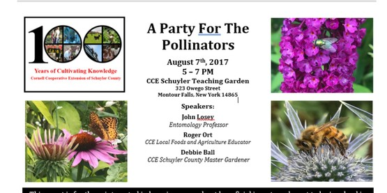 Party for the Pollinators