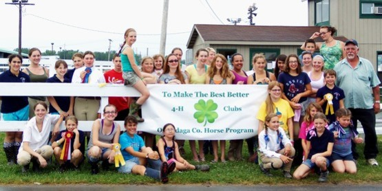 Members of our 4-H Horse Program!