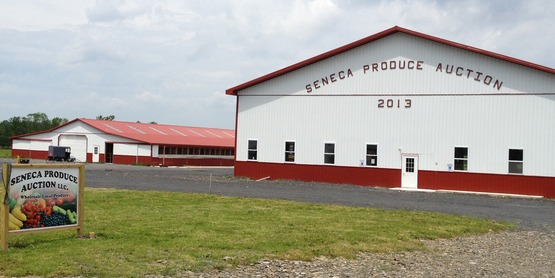 Kick off Tour of Seneca Produce Auction