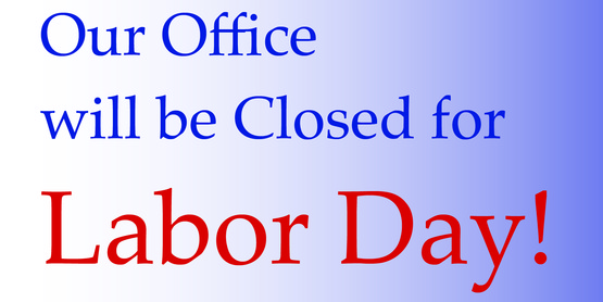 Closed for Labor Day!