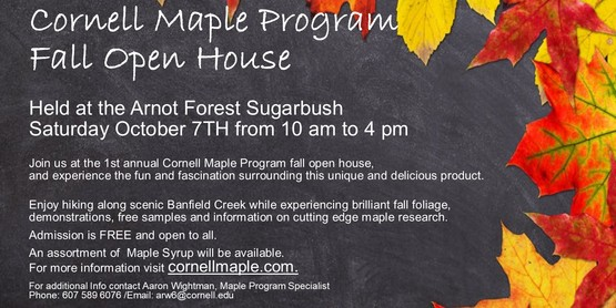 Cornell Maple Program