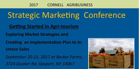 Strategic Marketing Conference - Getting Started in Agritourism