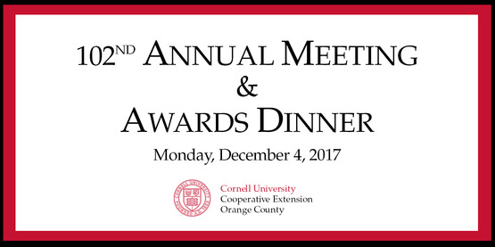 102nd Annual Meeting & Awards Dinner