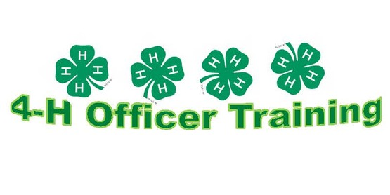 4-H Officer Training