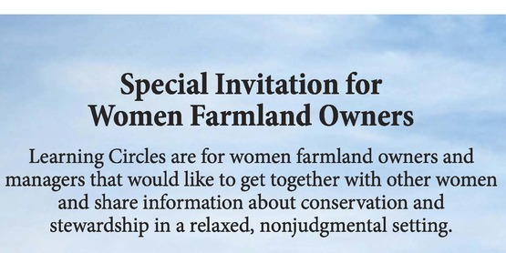 Special Invitation - Women Farmland Owners - New York Learning Circles - Soil Health & Your Land