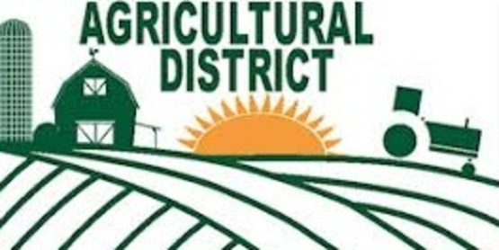 Annual 30 Day Ag District Inclusion Period: November 15-December 15, 2018