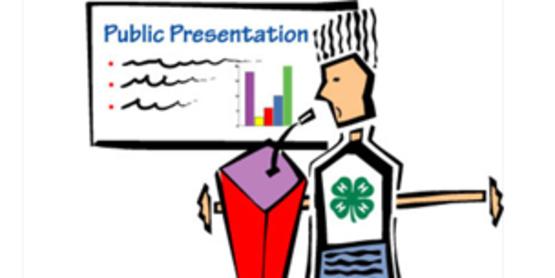 4-H Public Presentations - District Event