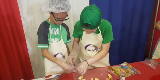 4-H Junior Iron Chef Competition
