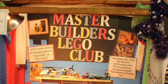 Master Builders Lego Club - End of year party, free build and movie