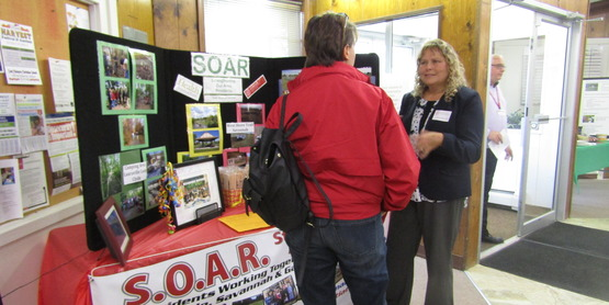 CCE educator Sandi Bastedo describes the S.O.A.R. Program in Clyde.