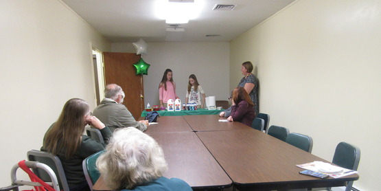 4-Hers joined us to share information and demonstrations...