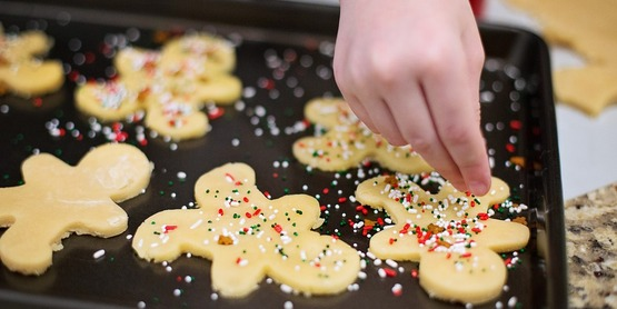 Deck The Halls Community Service and Healthy Cookie Exchange