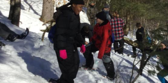 Military Teen Winter Retreat