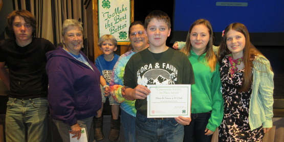4-H Achievement Night 2016