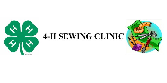 4-H Sewing Clinic