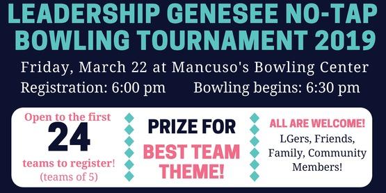 Leadership Genesee Bowling Tournament 2019