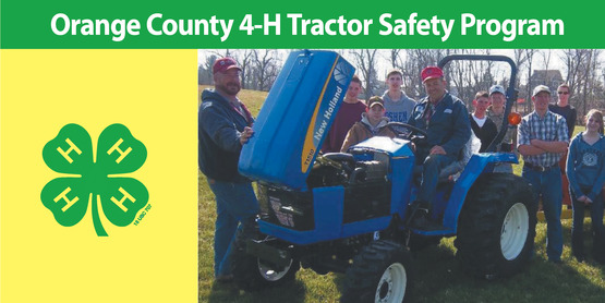 4-H Tractor Safety Program