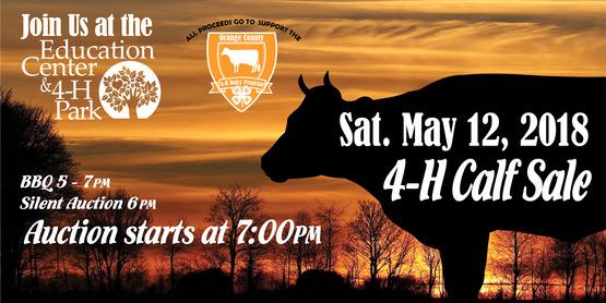 23rd Annual 4-H Calf Sale