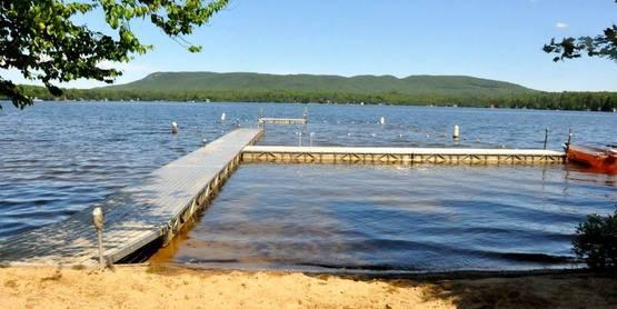Lake at 4-H Camp Overlook