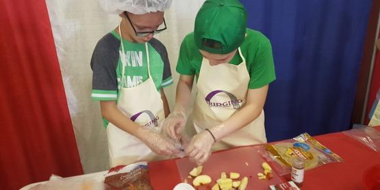 4-H Junior Iron Chef Competition