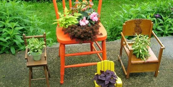 Create A Chair Planter