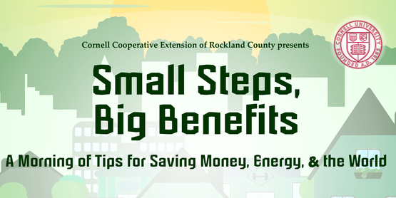 Small Steps, Big Benefits: A Morning of Tips for Saving Money, Energy, & the World