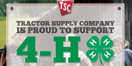 4H tractor supply paper clover campaign