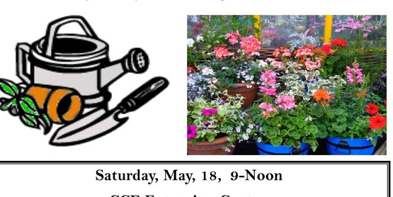 4-H Gardening Workshop May 18 at the Cornell Cooperative Extension center located on 173 South Grand Street, Cobleskill NY 12043. Call 518-234-4303 x113 for more information