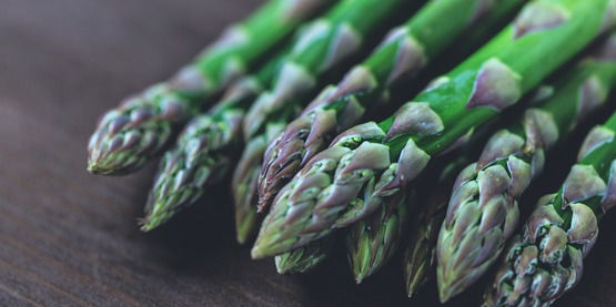 ​Asparagus is one of the first vegetables available in the spring in the New York.