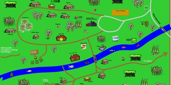 Hidden Valley 4-H Camp Map