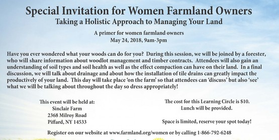 Women Landowners - Taking a Holistic Approach to Managing Your Land