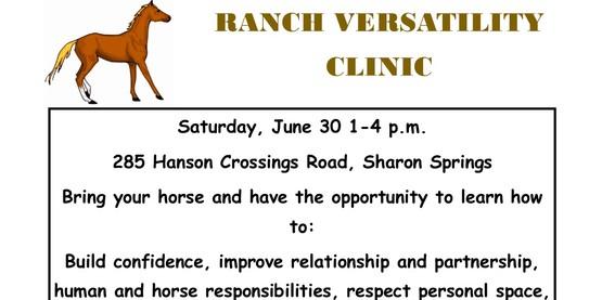 Ranch Versatility Clinic